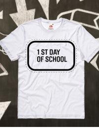 Magliette personalizzate primo giorno di scuola