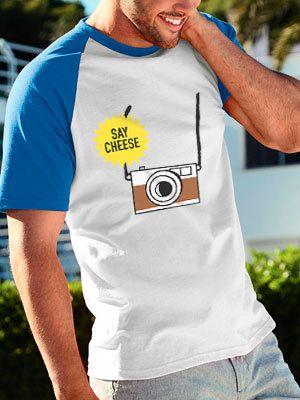 personalizza maglietta uomo baseball estate