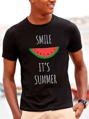 personalizza maglietta uomo estate