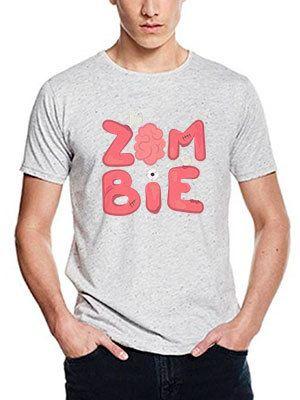 personalizza maglietta speckled zombie