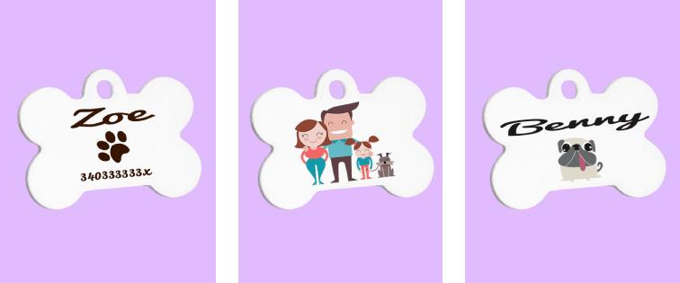 idee per creare medagliette personalizzate cani