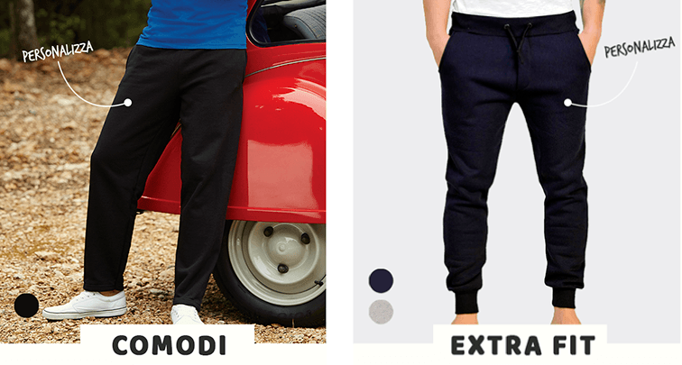 stampa pantaloni personalizzati