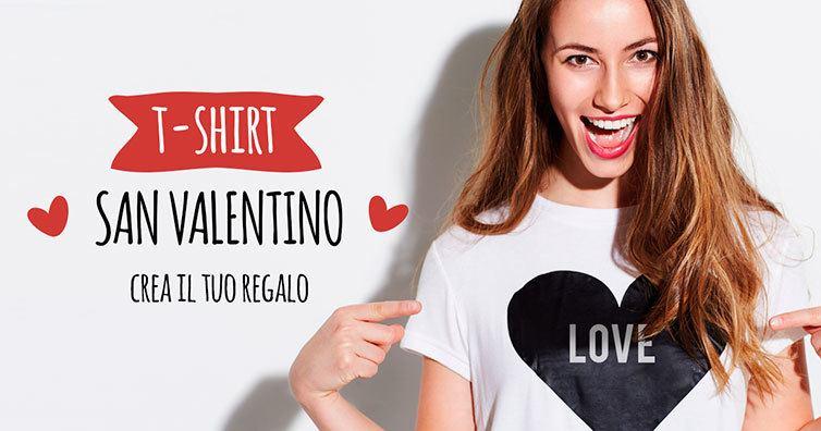 Speciale San Valentino: regala magliette personalizzate