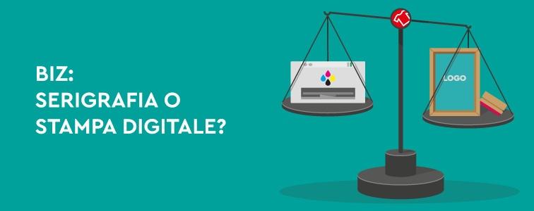 come scegliere tra serigrafia e stampa digitale