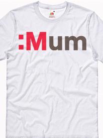 T-shirt personalizzata con scritta mamma