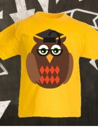 Personalizza maglietta bambino Fruit of the Loom con grafica scuola
