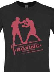 Personalizza T-shirt Unisex Aderente Fruit of the Loom con grafica boxing