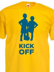 Personalizza T-shirt Unisex Fruit con grafica kick off calcio