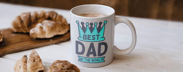 idee festa del papà Tazza personalizzata