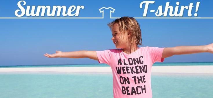 Speciale Magliette personalizzate con grafiche su Estate e Vacanze