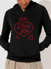 felpa personalizzata amore per san valentino eshirt