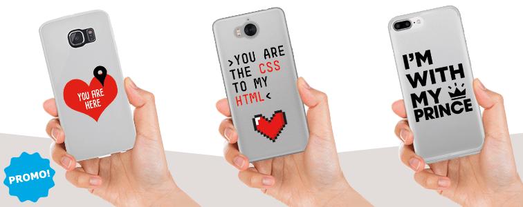 idee originali per san valentino, cover cellulare