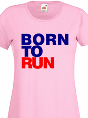 maglietta born to run eshirt