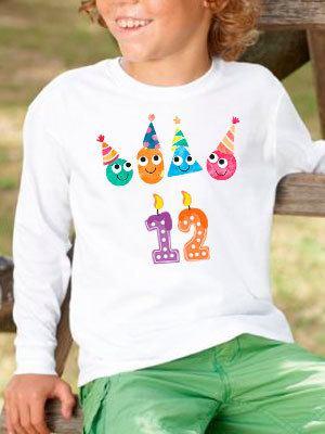 Personalizza maglietta regalo di compleanno per bambino