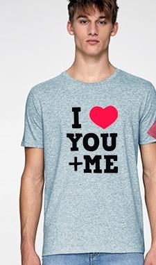 maglietta coppia love-eshirt