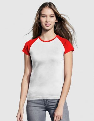 sols-maglietta-baseball-donna-bianco-rosso-fronte
