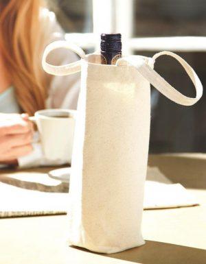 sacchetto porta bottiglia colore natural