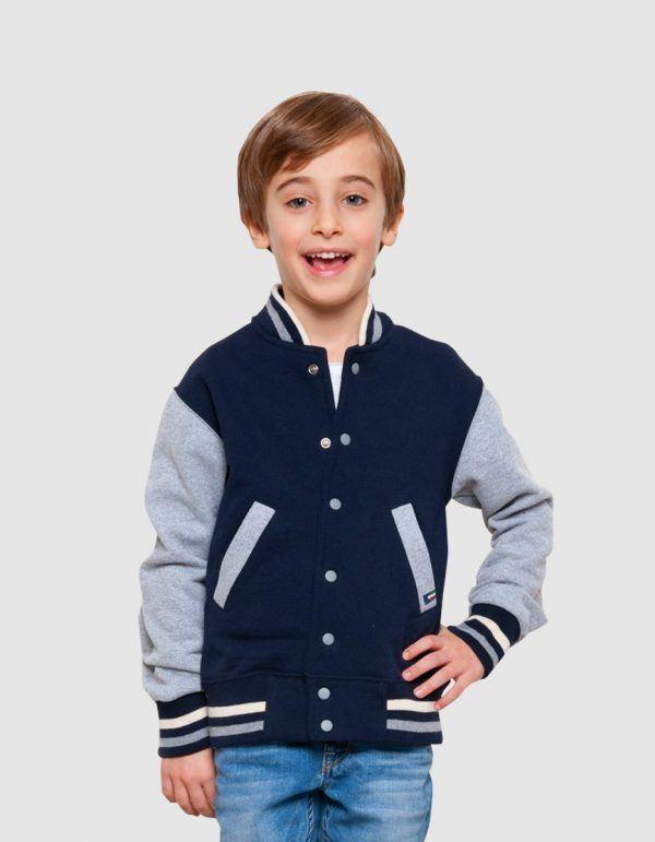 Felpa jacket bambino made in italy Vesti