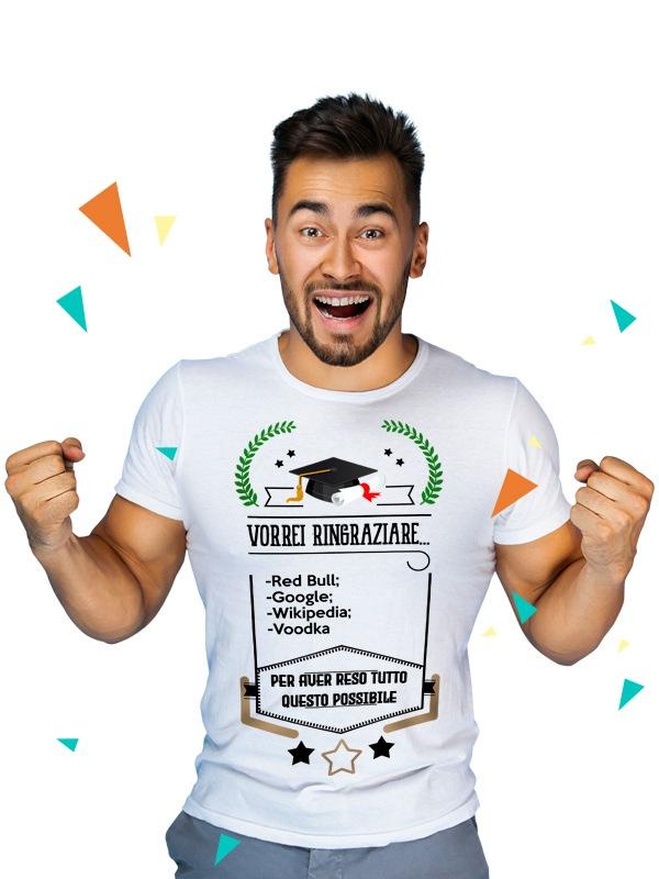 Idea regalo laurea: crea una maglietta con i ringraziamenti!