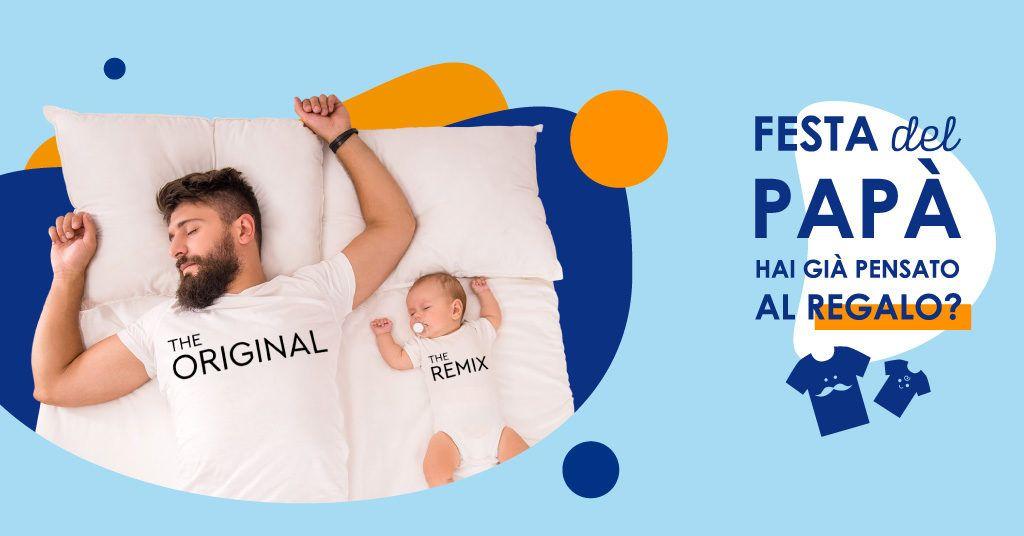 Idee regalo Festa del Papà: magliette padre e figlio