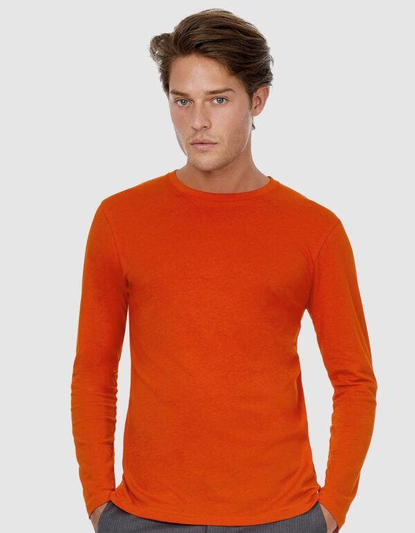 B&C Inspire T LSL /Men maglietta maniche lunghe