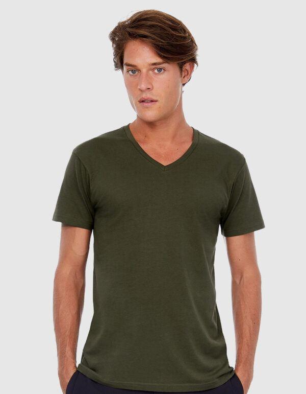 B&C Inspire T V /Men maglietta uomo cotone bio