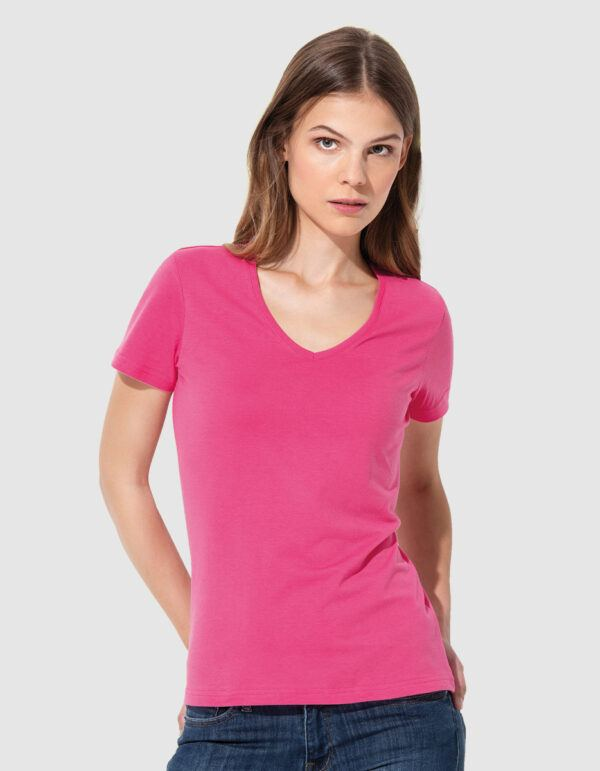 Stedman Classic T V-Neck maglietta donna collo a V