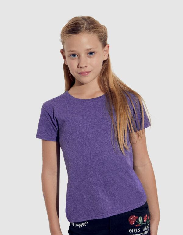 Fruit of the Loom Iconic T Girls maglietta bambina